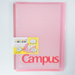 Campus Cover roze B5 +...